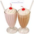 بستنی گلاسه تو لیوان