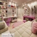 عکس دکور اتاق خواب صورتی خوشگل