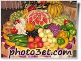 جدید ترین طرح های میوه آرایی - مدرن 2012