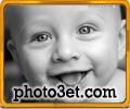 عکس بچه خنده دار و بامزه
