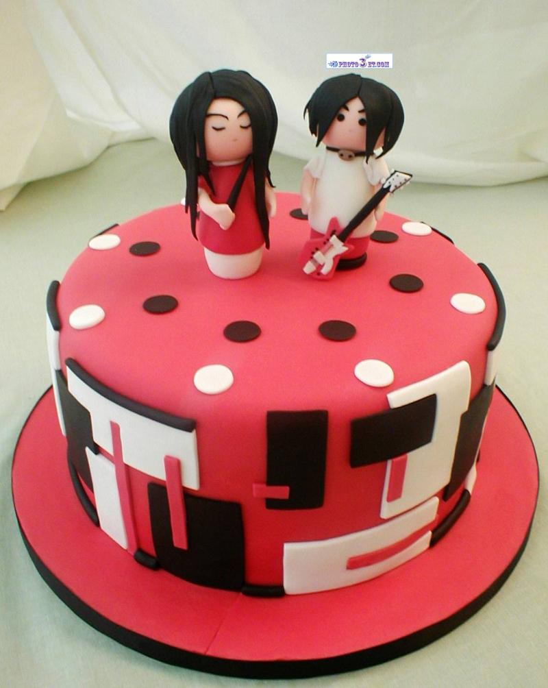 عکس جالب کیک تولد