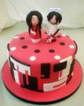 کیک تولد خوشمزه بچه گانه