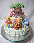 کارتون پو - کیک تولد
