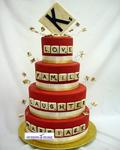کیک برجی