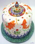 کیک جالب و بامزه