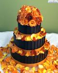 کیک عروسی 3 طبقه