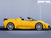 ماشین زرد شرکت فراری