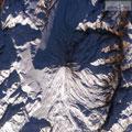 عکس از نوک قله دماوند - با هلیکوپتر