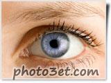 عکس چشم آبی