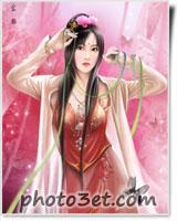 دختر چینی فانتزی