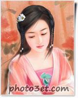 دختر فانتزی ژاپنی خوشگل