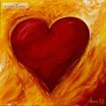 تصویر زیبا از نقاشی قلب