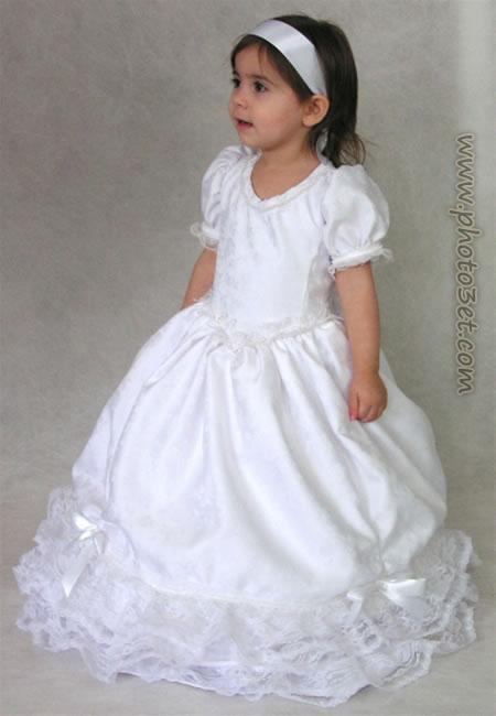 عکس لباس بچه خوشگل سفید