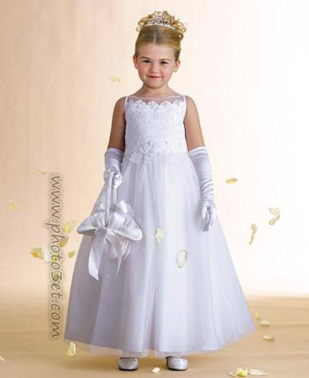 فوتوست - مدل جدید لباس عروس دخنر بچه ها