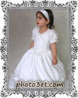 فوتوست - عکس لباس بچه خوشگل سفید