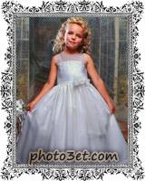 لباس عروس بچه گانه خارجی