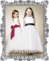 لباس عروس بچه گانه خوشگل