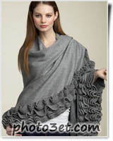 مدل های جدید شال زمستانه زیبا 1390