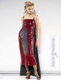 مدل لباس مجلسی چسبان و براق خارجی