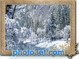 عکس منظره کوهستان در فصل زمستان