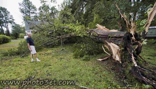 عکس های عواقب ناشی از طوفان ایرن ایالات متحده