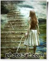 عکس رویایی و احساسی دختر