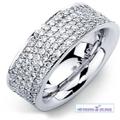 silver weeding rings