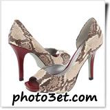 مدل های کفش 2012 دخترانه  خارجی مارک دار