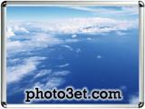 عکس بر فراز ابر های آسمان