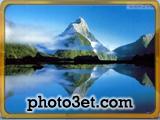 بک گراند کوهستان و دریاچه
