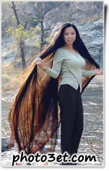 عکس خوشگل ترین و بلندترین مدل موی دختر افغانی یا تایلندی