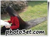 عکس مدل مو بلند دختر نوجوان در پارگ