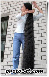 longest hair in the world