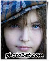 دختر خوشگل چشم سبز زیبا